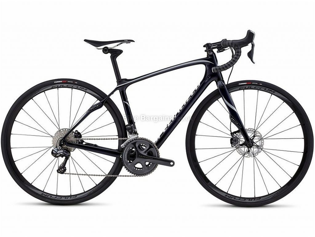 Specialized Ruby Expert Disc Ultegra Di2 Ladies Carbon Road Bike 2016 54cm, Black, Carbon, 22 Speed, Disc