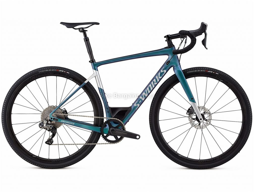 Specialized S-Works Diverge Di2 Disc Carbon Road Bike 2018 56cm, Blue, Carbon, 11 Speed, Disc