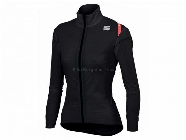 Sportful Ladies Hot Pack 6 Jacket XL, Black, White, Yellow