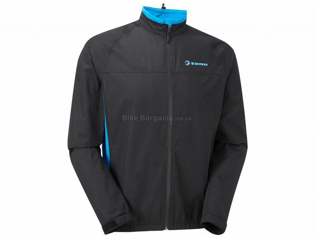 Tenn Whisper Lightweight Waterproof Breathable Jacket S, Black, Blue, Grey