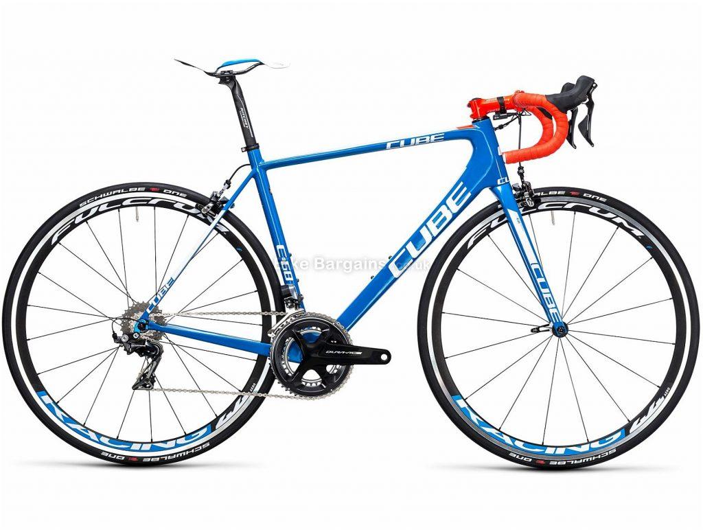 Cube Litening C:68 SL Carbon Road Bike 2017 50cm, Blue, 22 Speed, Calipers, Carbon, 7.1kg