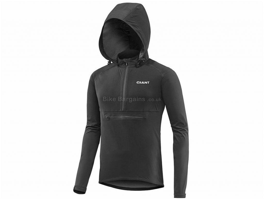 Giant Proshield Anorak Rain Waterproof Jacket S, Black