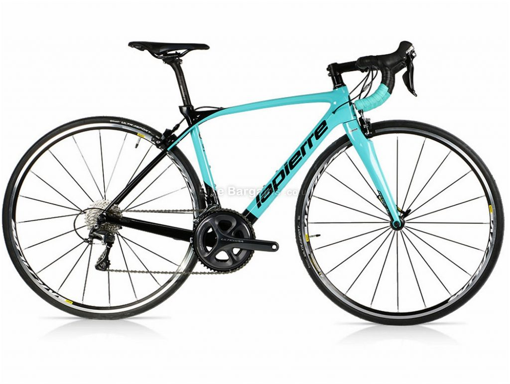 Lapierre Xelius SL 500 Ladies Carbon Road Bike 2017 M, L, Turquoise, Black, 22 Speed, Calipers, Carbon