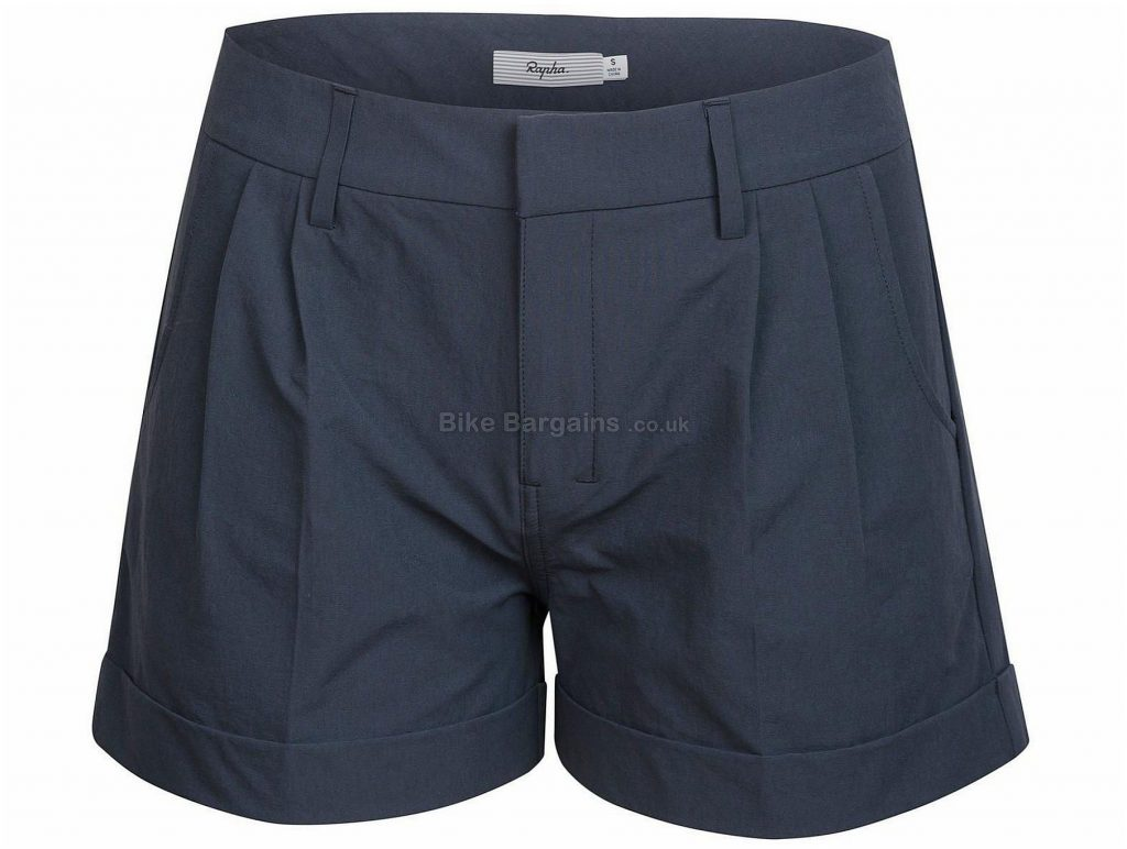 Rapha Ladies Turn-Up Shorts M, Grey