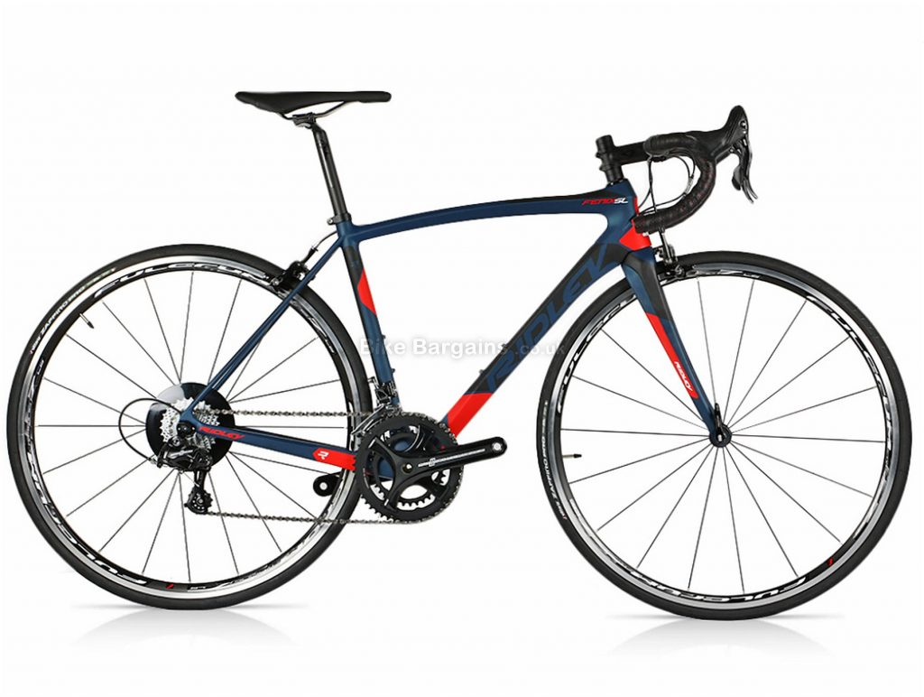 Ridley Fenix SL Potenza Carbon Road Bike 2018 XXS, Red, Black, 22 Speed, Calipers, Carbon