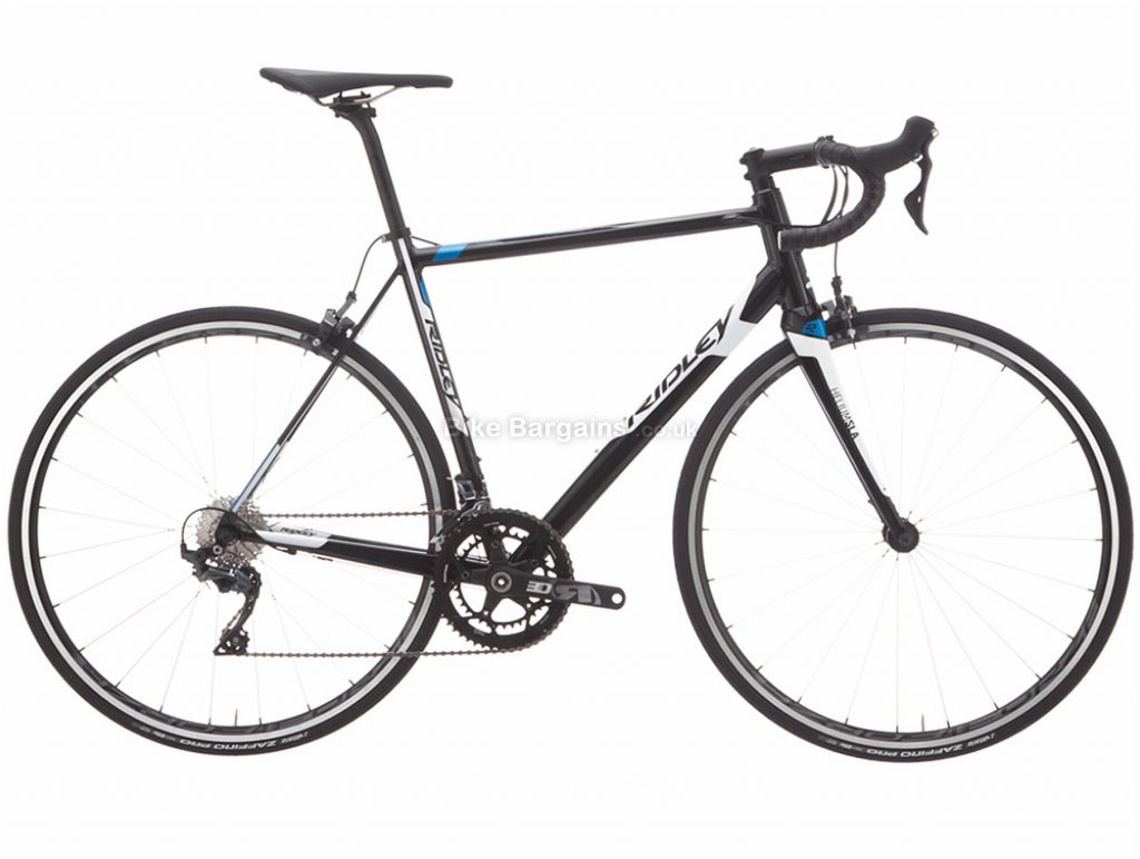 Ridley Helium SLA Ultegra Alloy Road Bike 2018 XXS, Black, White, Blue, 22 Speed, Calipers, Alloy