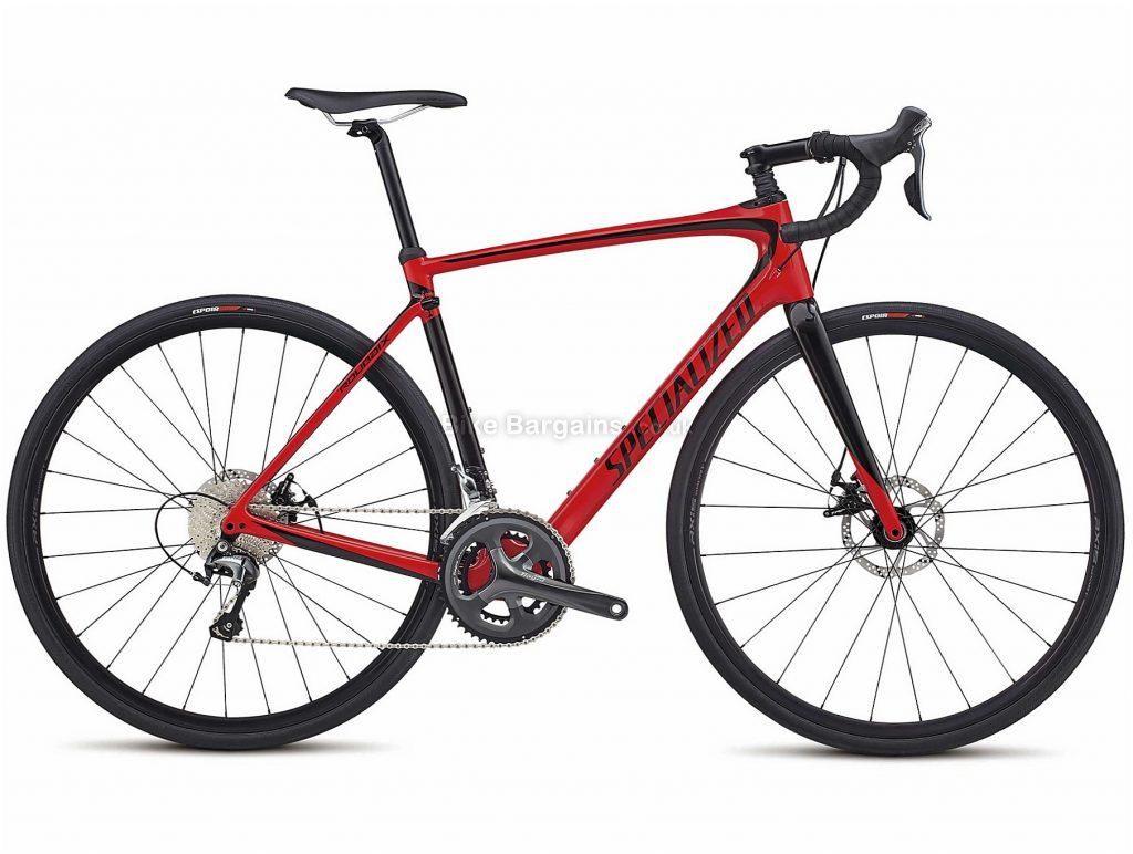 Specialized Roubaix Carbon Disc Road Bike 2018 49cm, 54cm, Red, Black, 20 Speed, Disc, Carbon