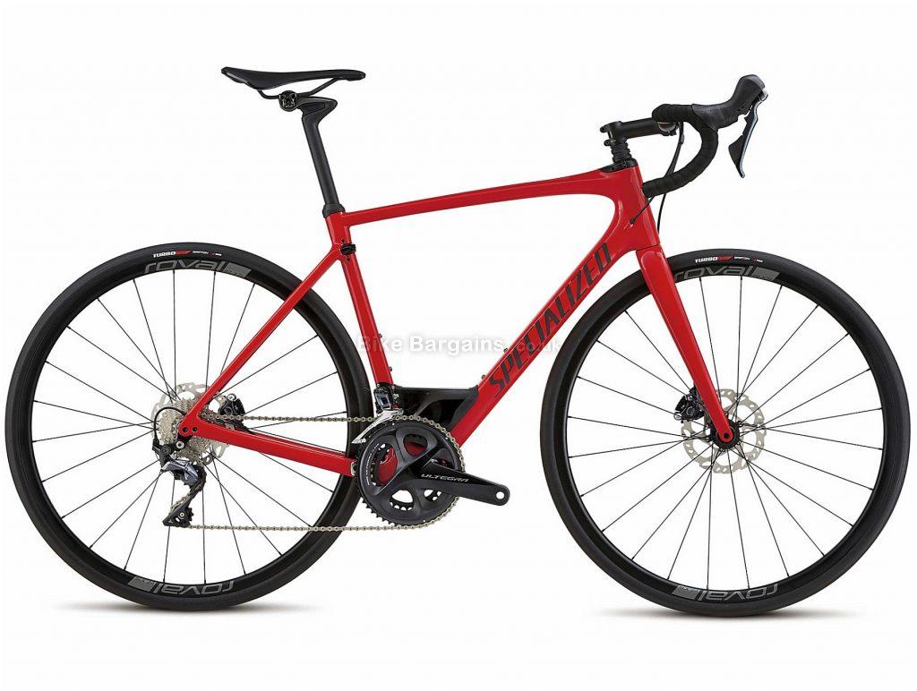 Specialized Roubaix Expert Carbon Disc Road Bike 2018 49cm, 54cm, Red, Black, 22 Speed, Disc, Carbon