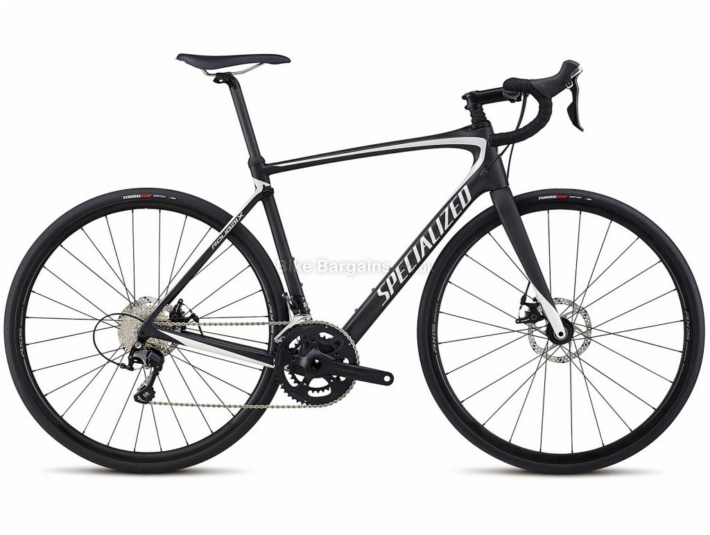 Specialized Roubaix Sport Carbon Disc Road Bike 2018 56cm, Black, 22 Speed, Disc, Carbon