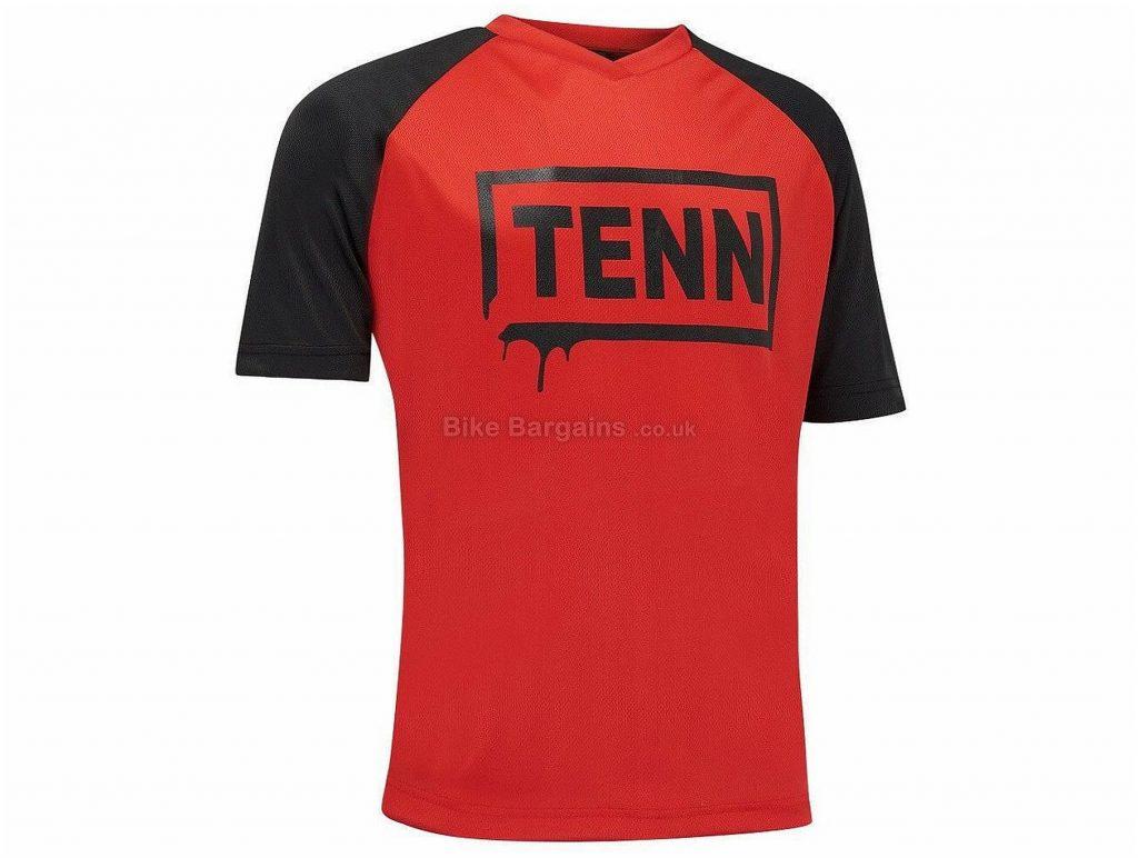 Tenn Graffiti Short Sleeve Jersey M, L, Red, Black