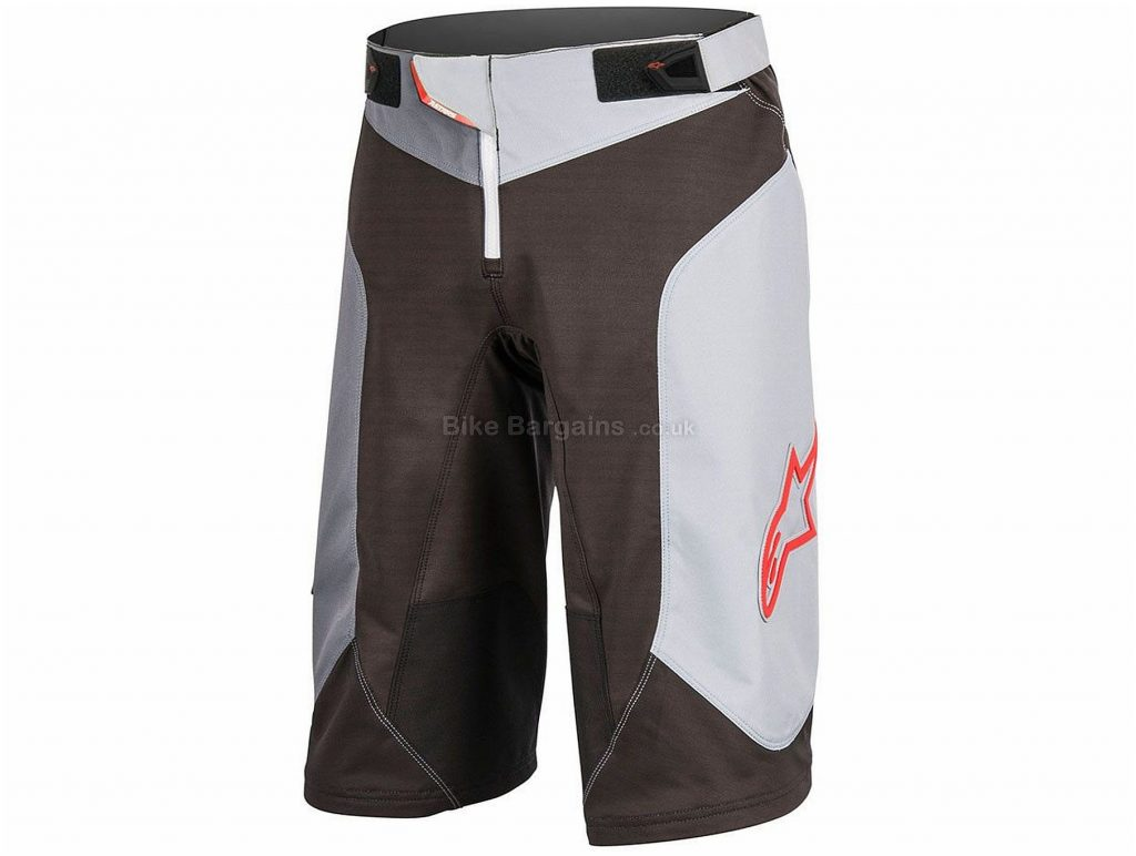 "Alpinestars Vector Shorts 2017 28"", Black, Grey"