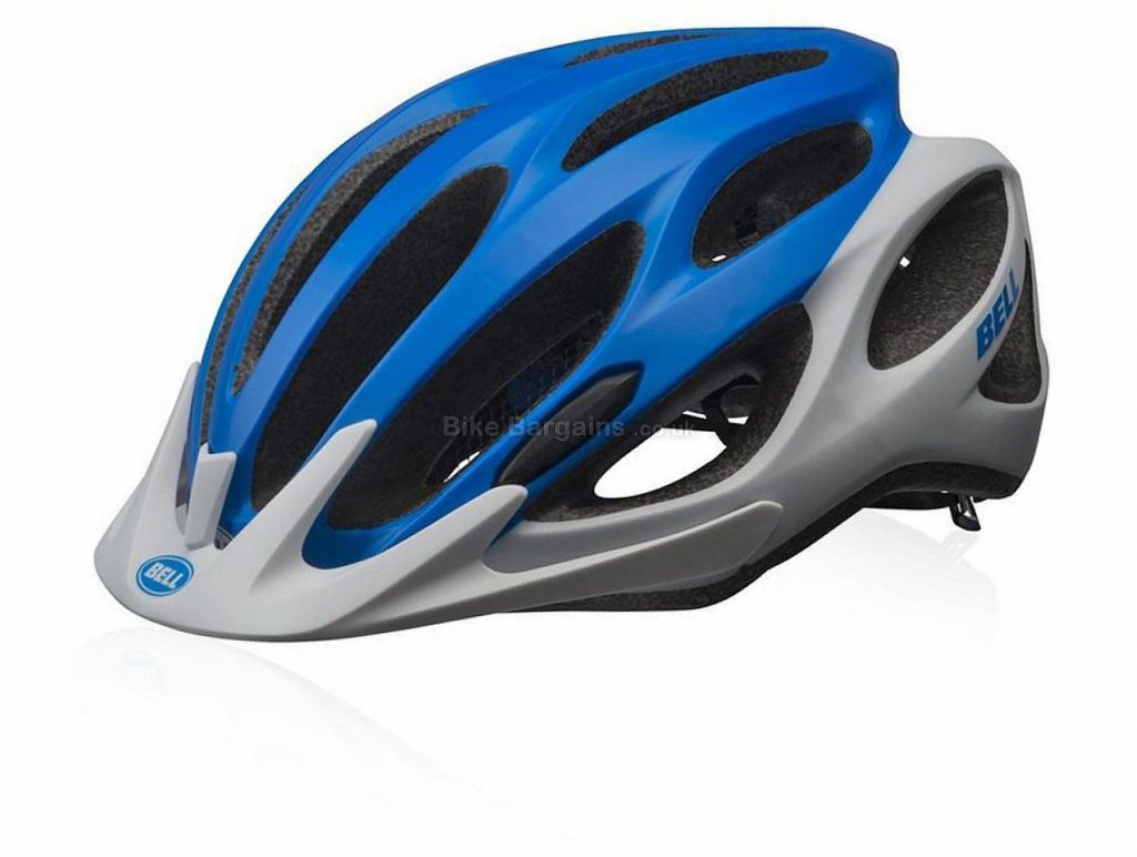 Bell Traverse MTB Helmet M, Blue, White, 18 vents, 289g