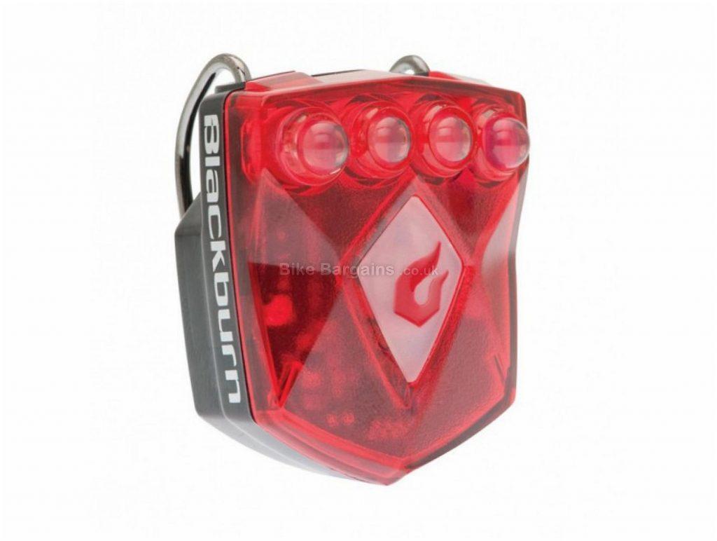 Blackburn Flea 2.0 Rechargeable Rear Light 40 Lumens, 17g, Black, Red