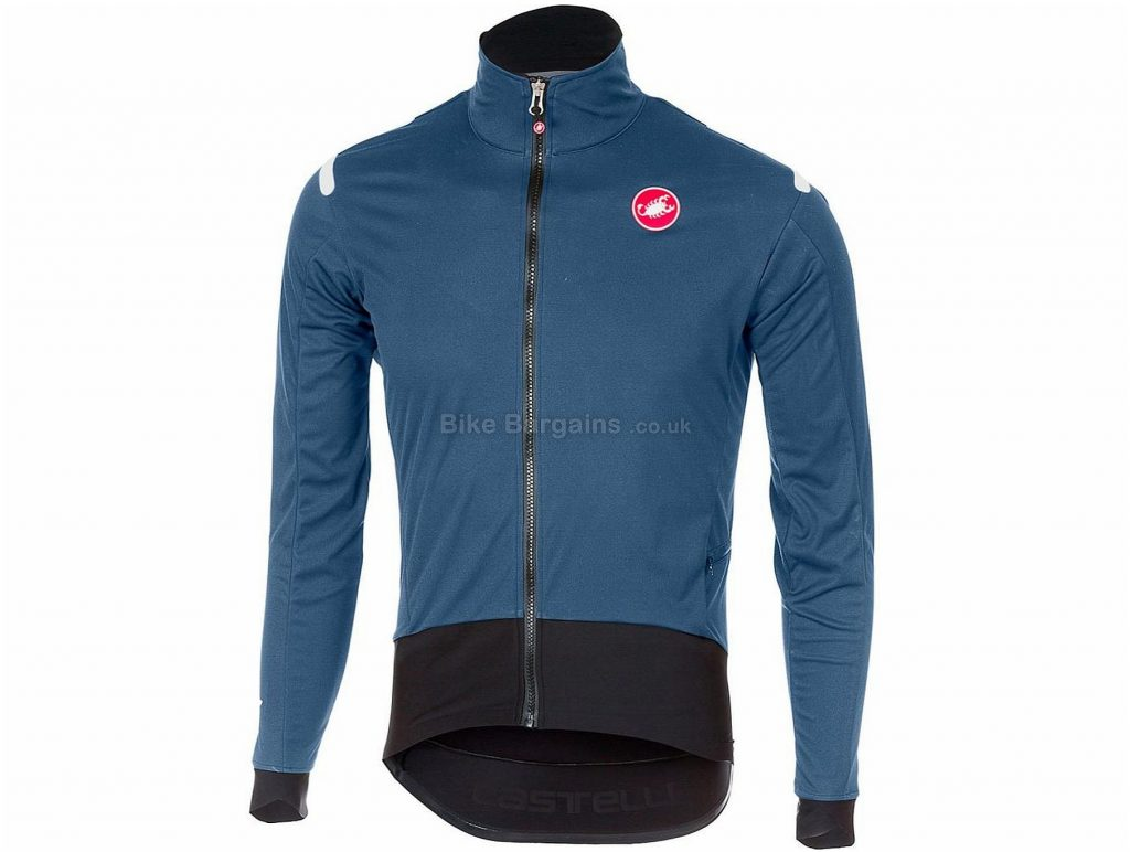 Castelli Alpha Ros Light Jacket 2018 S,M, Blue, Grey, Orange