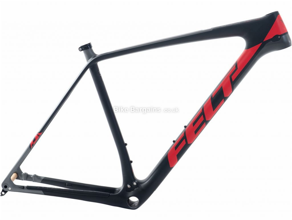 "Felt Doctrine 1 Alloy Hardtail MTB Frame 2018 16"", Black, Red, Alloy, 27.5"", 1.31kg, Disc"