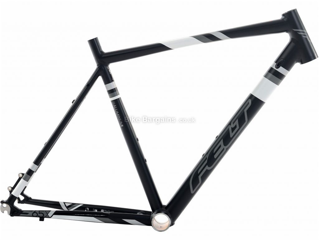 Felt F65X Alloy Disc Road Frame 2015 55cm, Black, Green, Alloy, 700c, 1.65kg, Disc