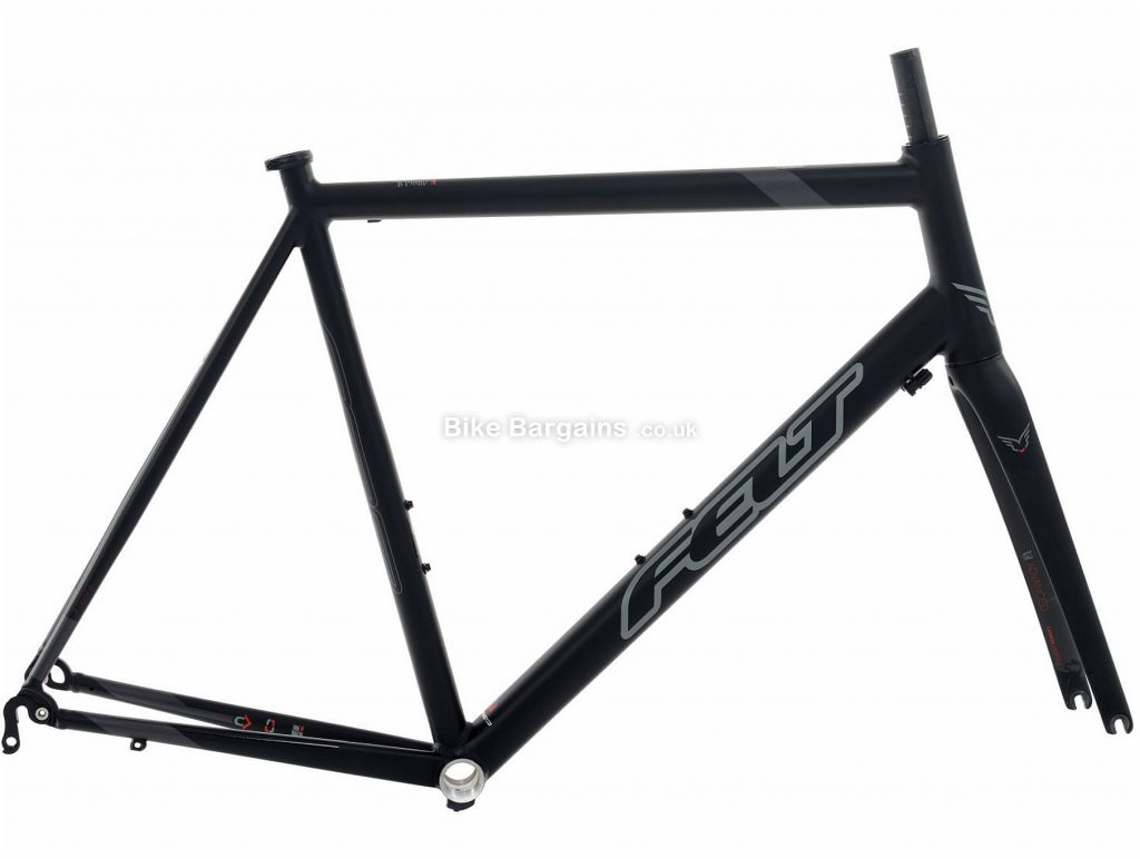 Felt FA Alloy Calipers Road Frame 2016 48cm,51cm,54cm,56cm,58cm,61cm, Black, Alloy, 700c, 2.16kg, Calipers
