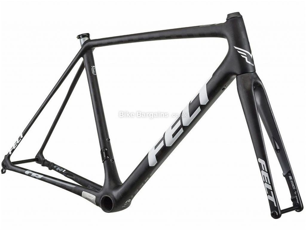 Felt FR1 Disc Carbon Road Frame 2018 58cm, 61cm, Black, Carbon, 700c, Disc