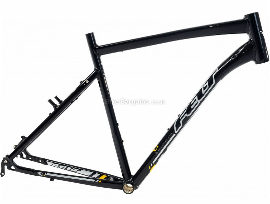 Felt QX80 Alloy Disc Hardtail Hybrid Frame 2014 58cm, Black, Alloy, 700c, Disc