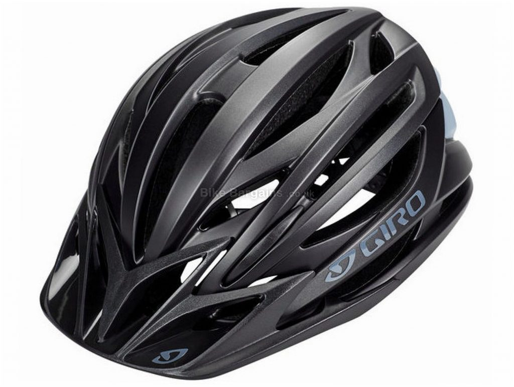 Giro Artex MIPS MTB Helmet M, Black, Blue, 25 vents, 295g