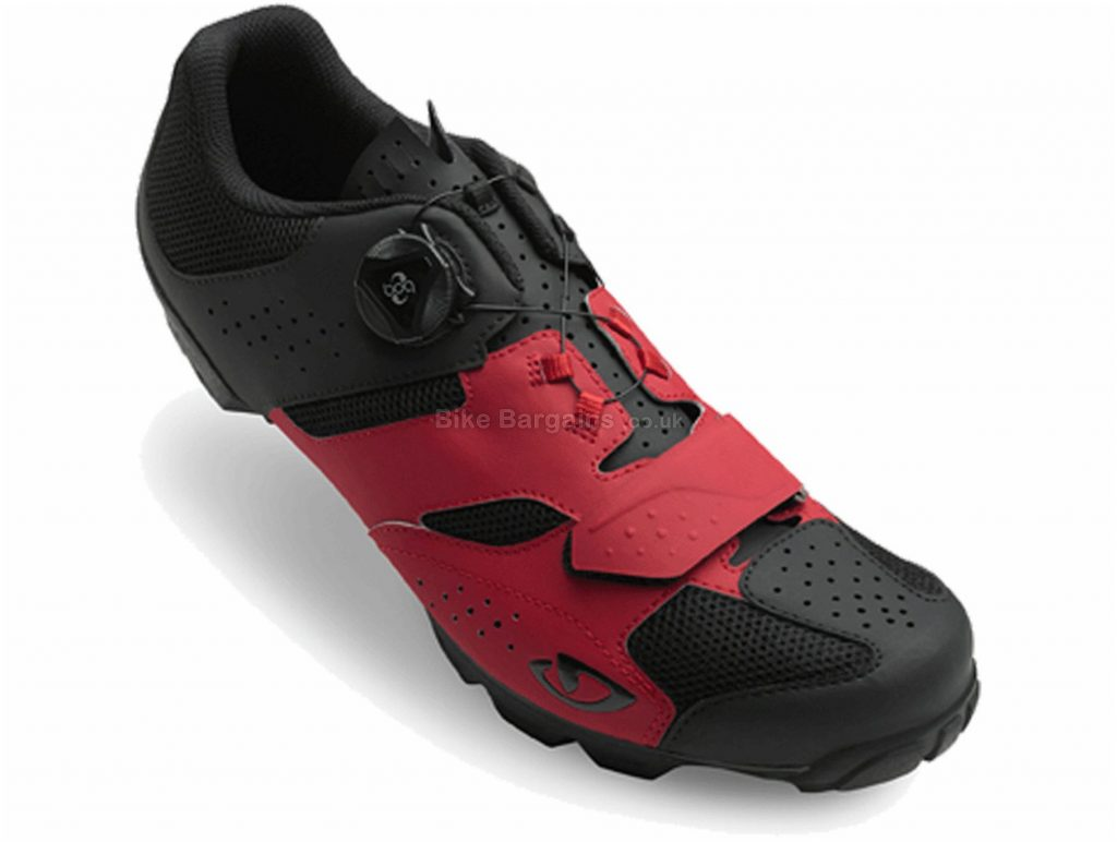 Giro Cylinder MTB Shoes 39, Black, Blue, Red, Boa, 315g