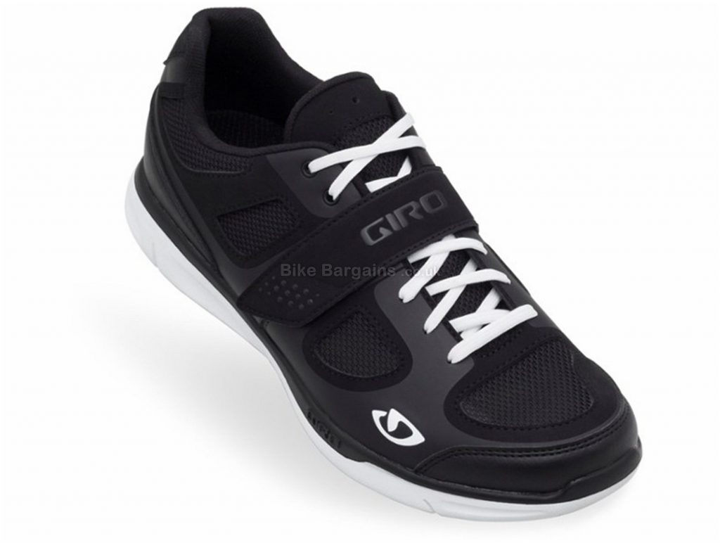 Giro Grynd MTB Shoes 40,41, Black, Velcro, Laces, 315g