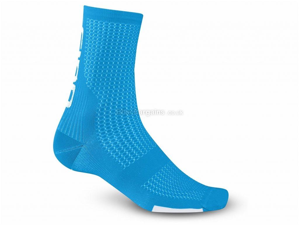 Giro HRC Team Cycling Socks S,M,XL, Blue, Yellow, White, Black, Pink