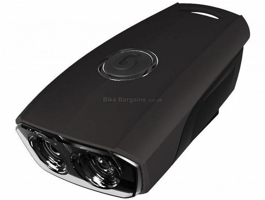 Guee Flipit 2 LED Front Light Black, Front Light, 3 modes