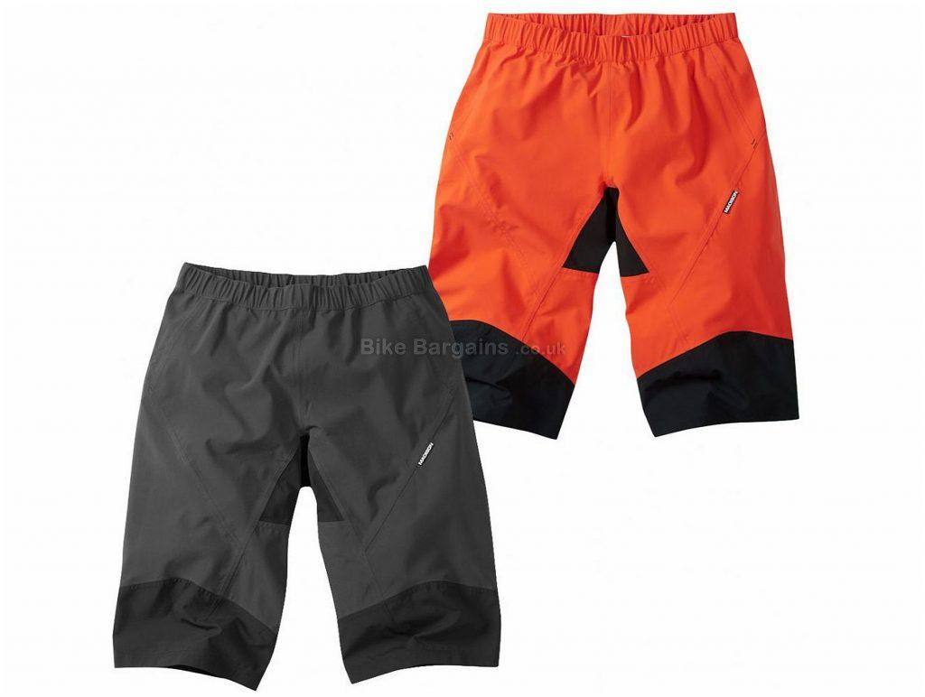 Madison Zenith Waterproof Shorts XXL, Red