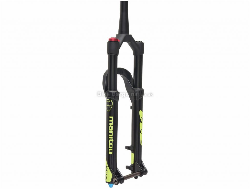 Manitou Mattoc Boost 27.5 MTB Suspension Forks 120mm, Black, Alloy, 2.07kg
