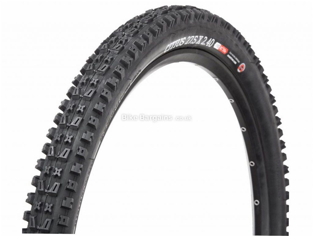 """Onza Citius 60 TPI 27.5 Folding MTB Tyre 27.5"""", 2.4"""", Black, Folding"""