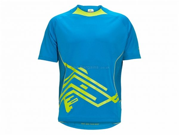 Polaris AWOL Trail Short Sleeve Jersey S,M, Grey, Orange, Short Sleeve