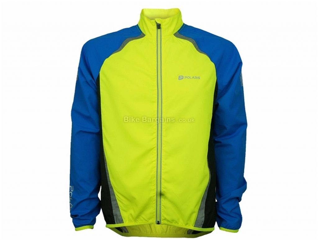 Polaris RBS Pack Me Jacket S,M,L,XL,  Yellow, Blue, Long Sleeve