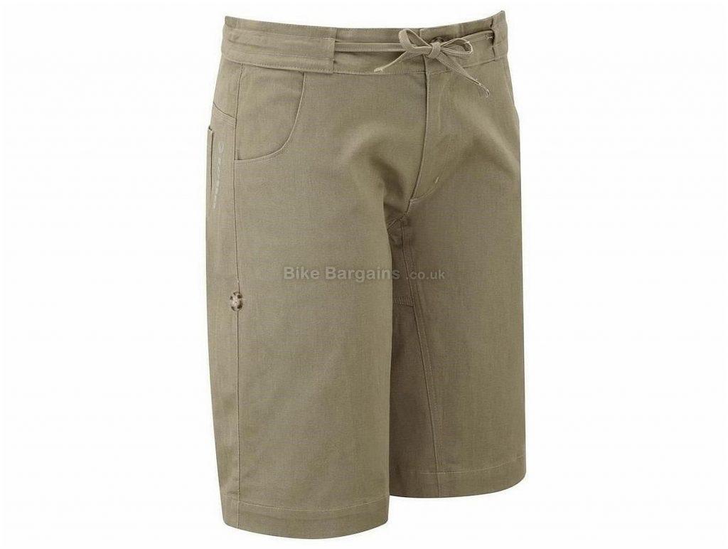 Tenn Ladies Off Road Downhill Cargo MTB Shorts 8, 10, Brown
