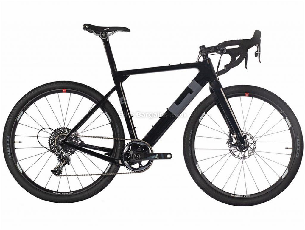 3T Exploro LTD Force Carbon Gravel Bike 2018 L (ex display), Black, Grey, 700c, Carbon, 11 Speed