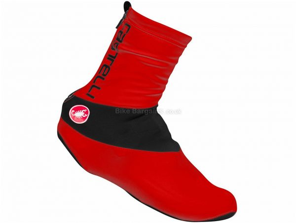 Castelli Evo Overshoes S, Red