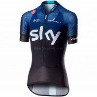 Castelli Team Sky Climbers Ladies Short Sleeve Jersey