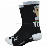 Defeet 6″ Aireator Rich Mitch Tom Simpson Socks