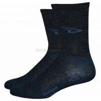 Defeet WoolEator 5″ D-Logo Socks