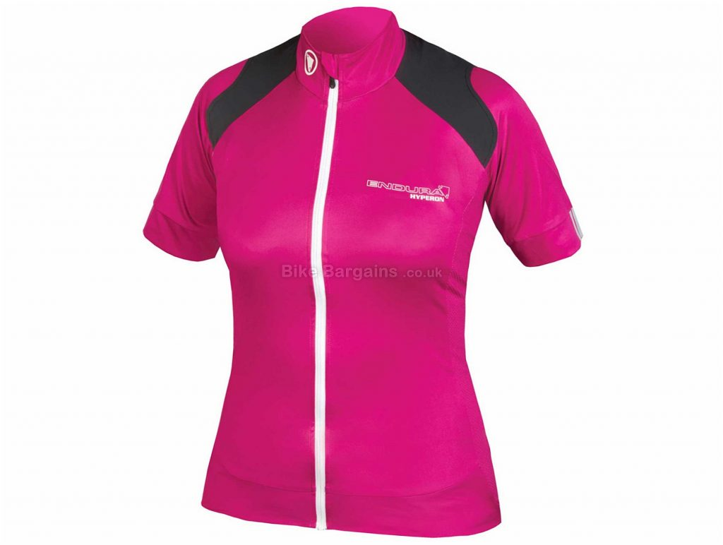 Endura Ladies Hyperon Short Sleeve Jersey L, Pink