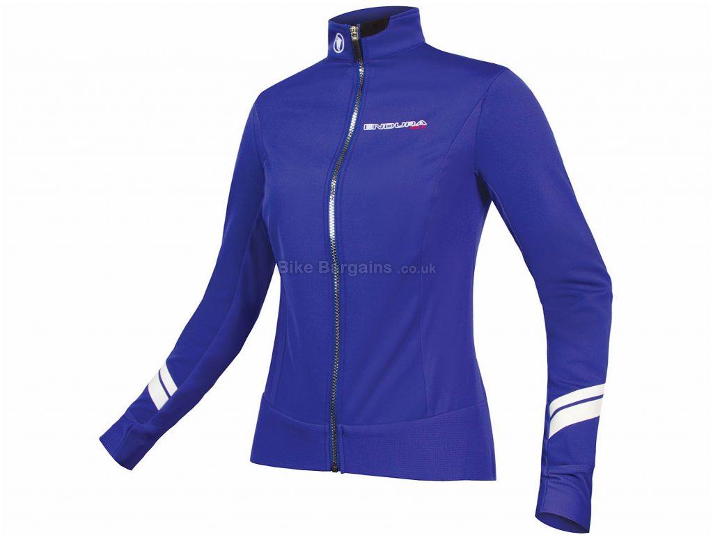 Endura Ladies Pro SL Thermo Softshell Jacket M, Blue