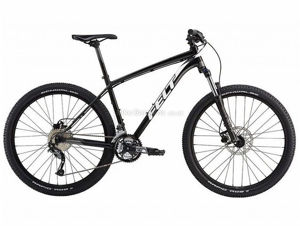"Felt Dispatch 7/70 XC 27.5"" Alloy Hardtail Mountain Bike 2018 12"", Black, 27.5"", Alloy, 27 Speed, 14.77kg"