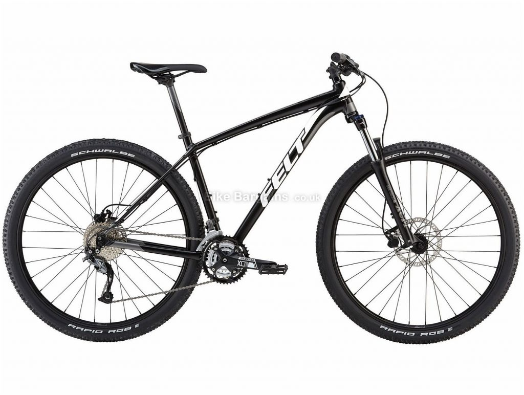 "Felt Dispatch 9/70 XC 29"" Alloy Hardtail Mountain Bike 2018 14"", Black, Orange, 29"", Alloy, 27 Speed, 14.99kg"