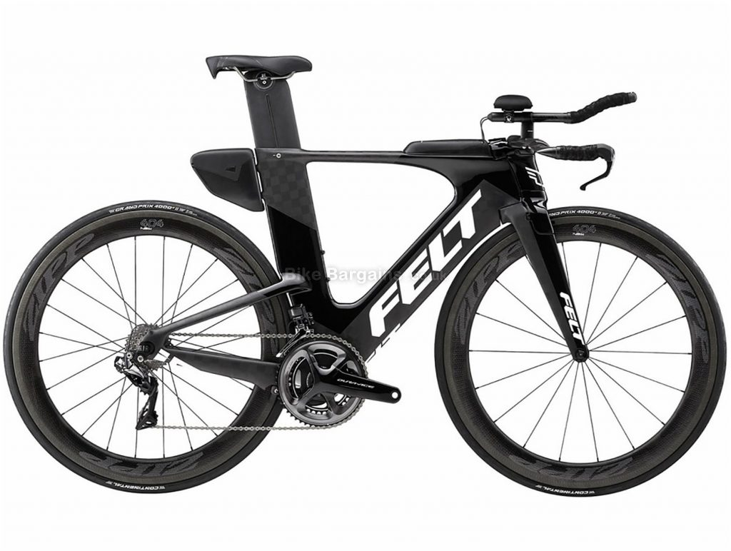 Felt IA FRD Di2 Carbon Triathlon Road Bike 2018 56cm, Black, 700c, Carbon, 22 Speed
