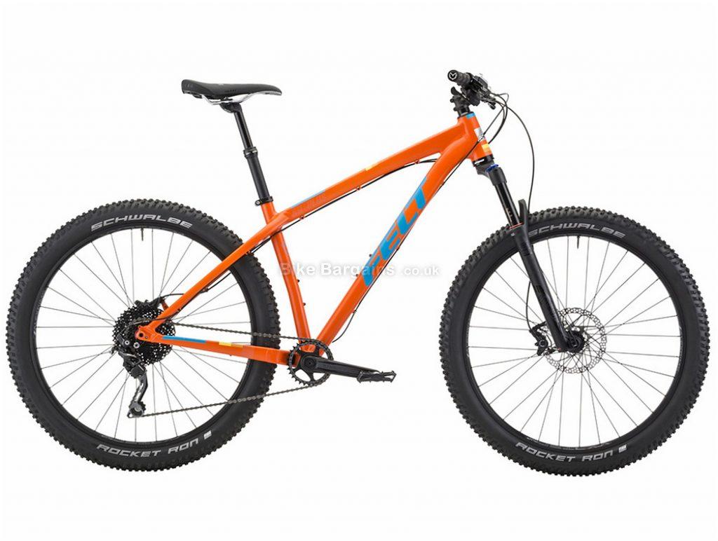 "Felt Surplus 30 Plus 27.5"" Alloy Hardtail Mountain Bike 2018 16"", Orange, 27.5"", Alloy, 10 Speed"