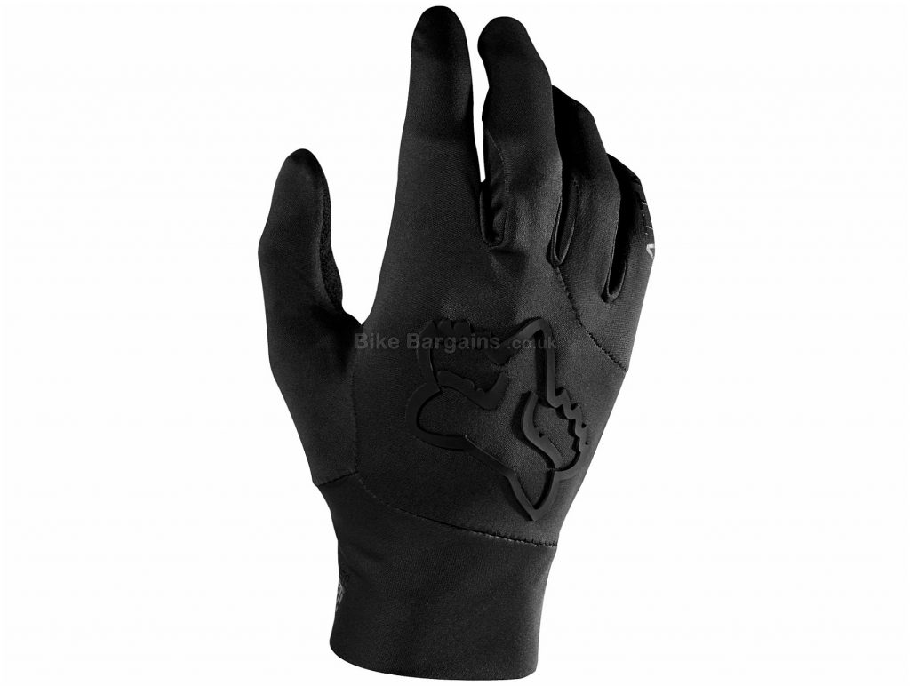 Fox Clothing Attack Waterproof Full Finger Gloves S, Red, Blue