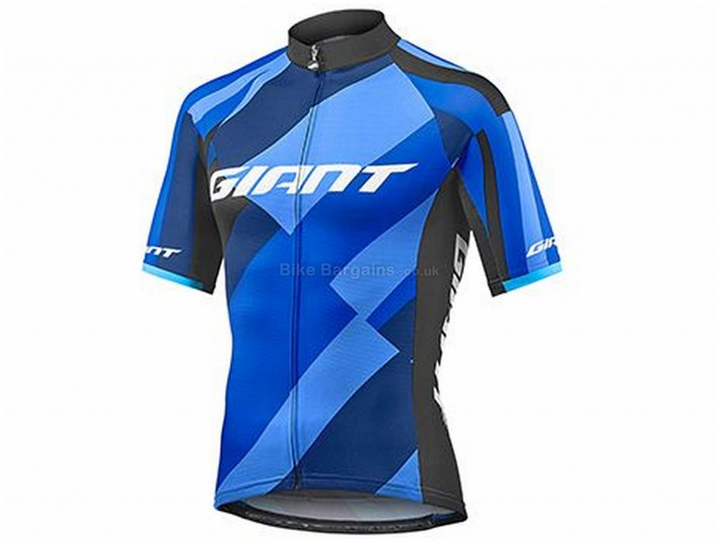 Giant Elevate Short Sleeve Jersey S, Blue