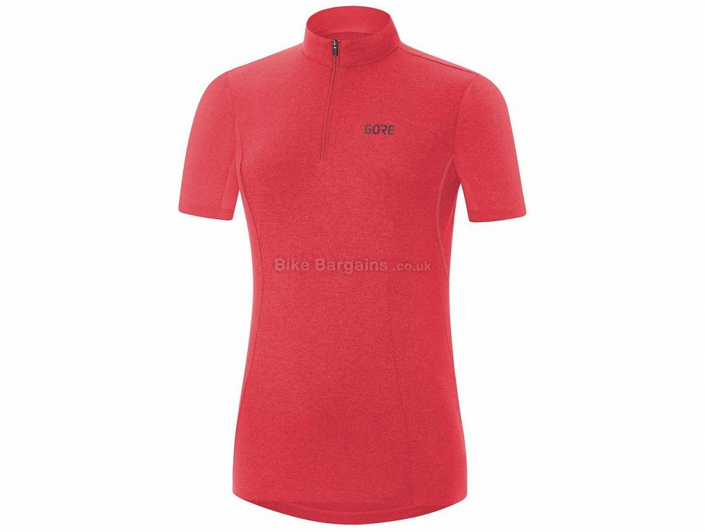 Gore C3 Ladies Short Sleeve Jersey 38, Grey