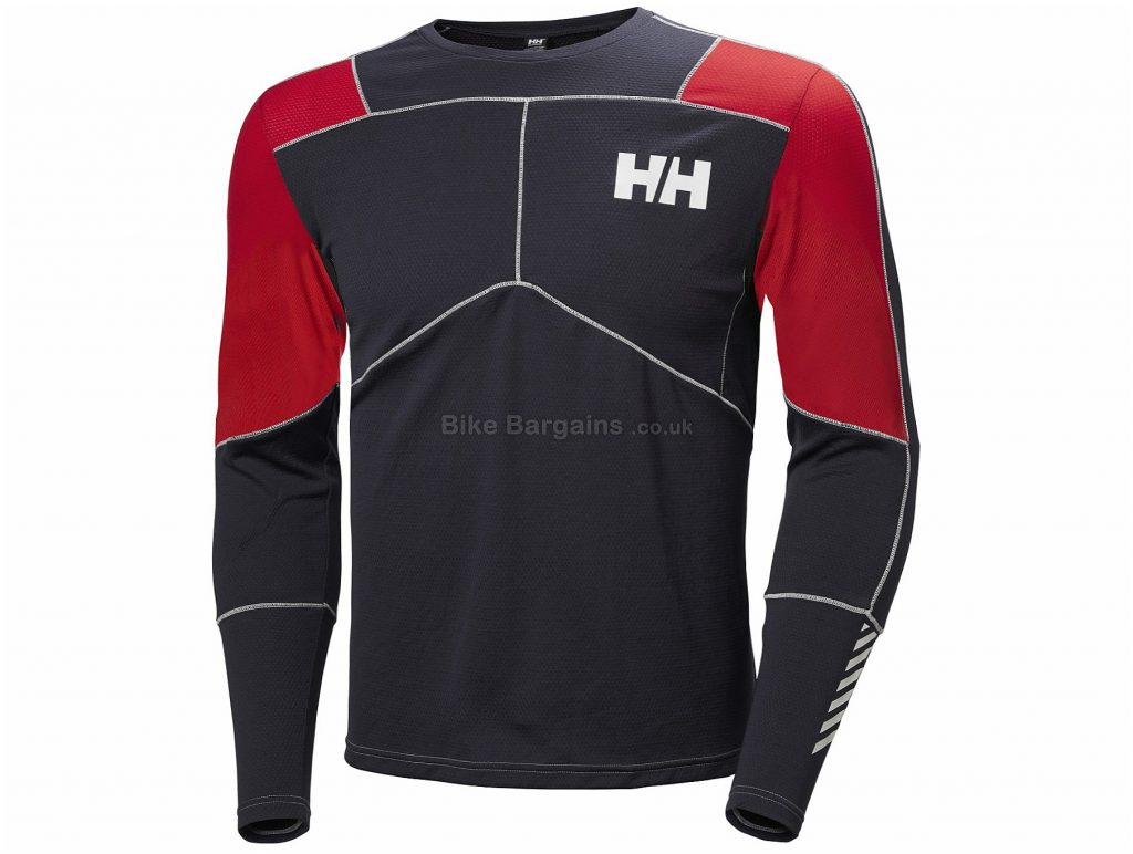 Helly Hansen Lifa Active Crew Long Sleeve Baselayer XL, Black