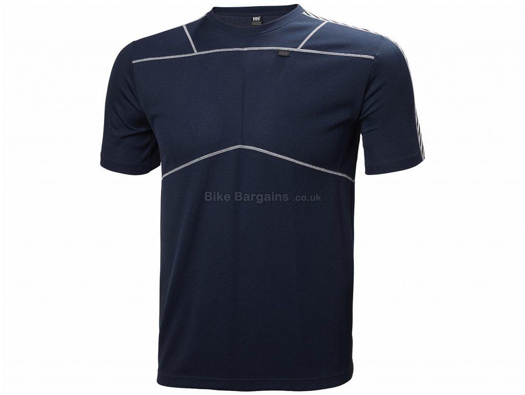 Helly Hansen Lifa Short Sleeve Baselayer S, Black
